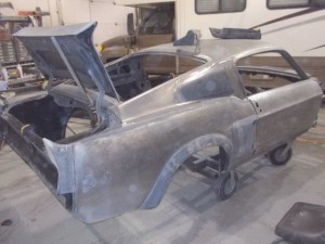 1967 Ford Mustang Body Work